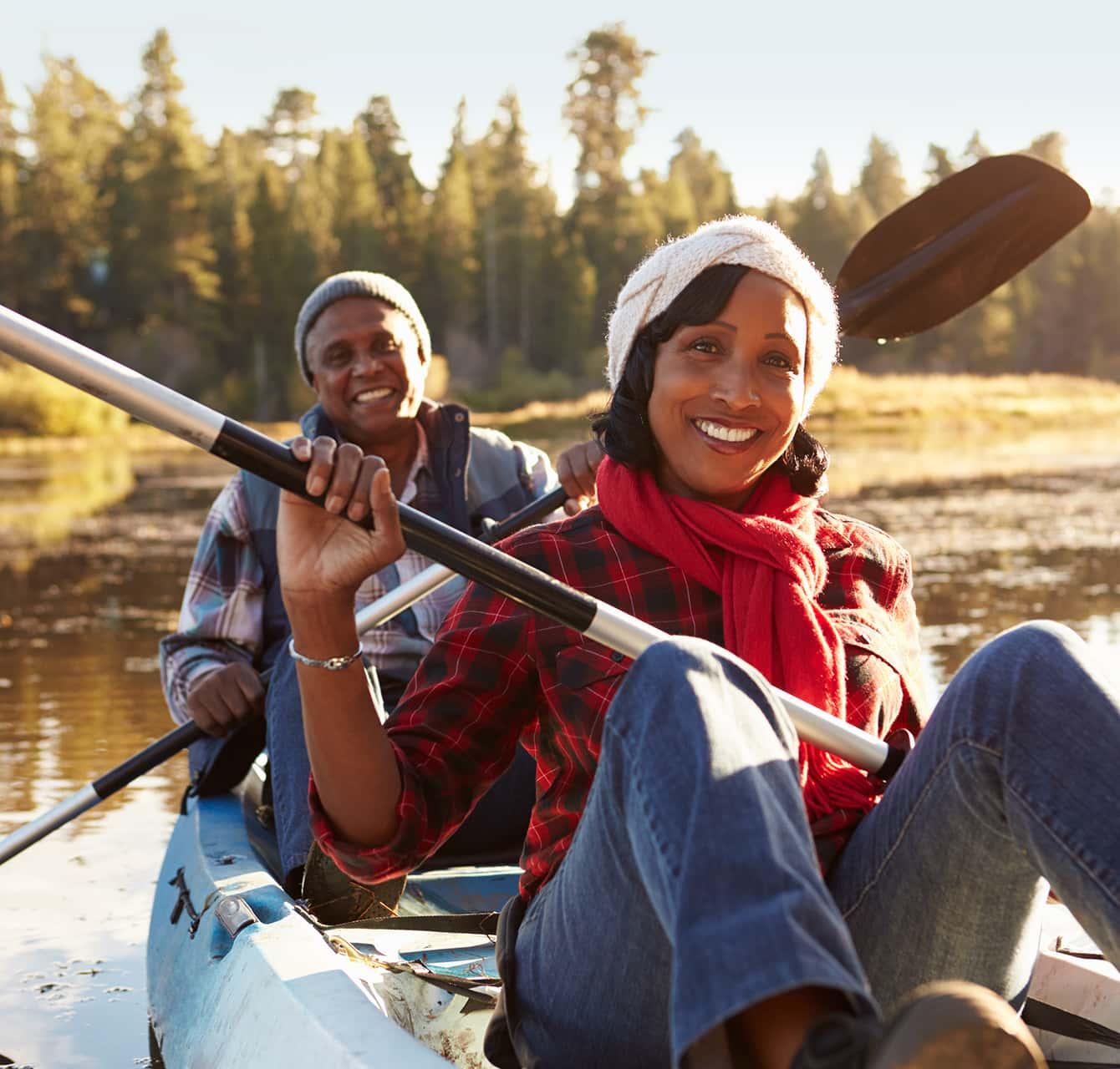 Couple kayaking - Top Activity near Boone, NC