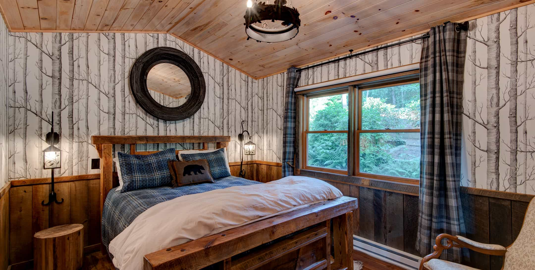 Pillows on the Maple Spring Cabin Bed
