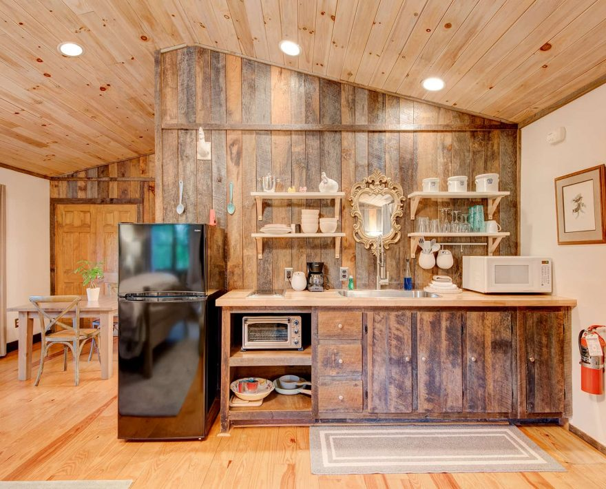 Gazebo Cabin Kitchen