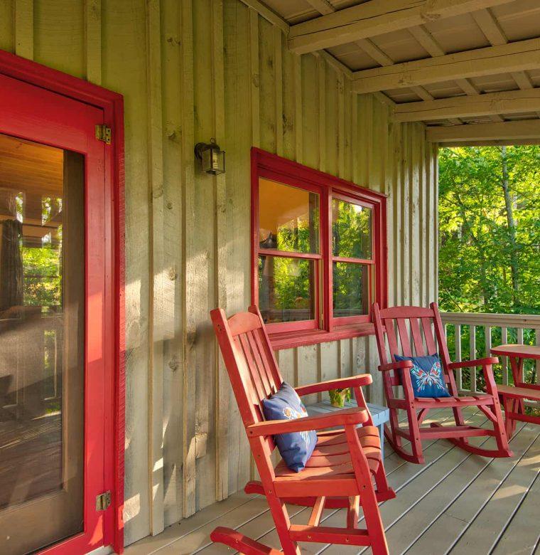 Maple Spring Cabin Porch